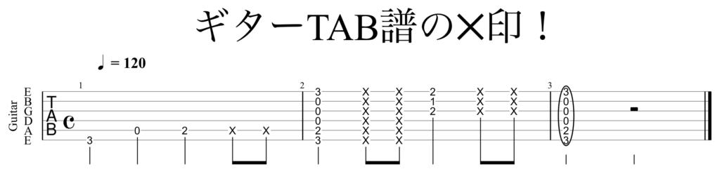 タブ 譜 記号